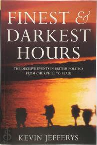 Finest & darkest hours - Kevin Jeffereys (ISBN 9781903809747)