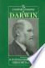 The Cambridge Companion to Darwin - Michael Jonathan Sessions Hodge, Gregory Radick (ISBN 9780521777308)