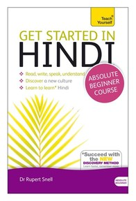 Teach Yourself Get Started in Hindi - Rupert Snell (ISBN 9781444174687)