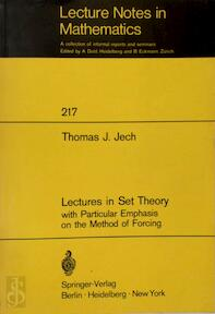 Lectures in set theory - Thomas J. Jech (ISBN 9780387055640)