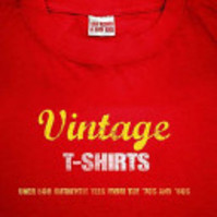 Vintage T-Shirts - Lisa Kidner (ISBN 9781844420001)