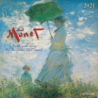 C.MONET – A WALK IN THE COUNTRY Kalender 2021 (ISBN 9783965540859)