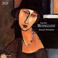 Amadeo Modigliani Kalender 2021 (ISBN 9783965542785)