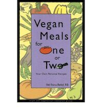 Vegan Meals for One Or Two - Nancy Berkoff, Vegetarian Resource Group (ISBN 9780931411236)