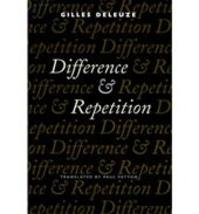 Difference and Repetition - Gilles Deleuze (ISBN 9780231081597)