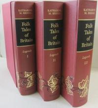 Folk Tales of Britain Legends 3 volume set - K.M. Briggs