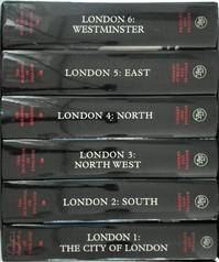 The Buildings of England: London 6-volume Set - Simon Bradley, Nikolaus Pevsner, Bridget Cherry, Charles O'Brien