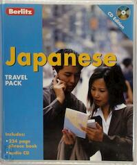 Berlitz Japanese Travel Pack (ISBN 9789812461162)