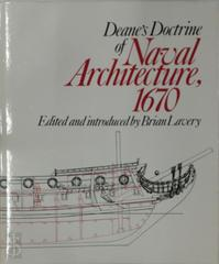 Deane's Doctrine of Naval Architecture, 1670 - Sir Anthony Deane (ISBN 9780851771809)
