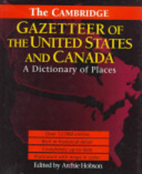 The Cambridge Gazetteer of the USA and Canada - Archie Hobson (ISBN 9780521415798)
