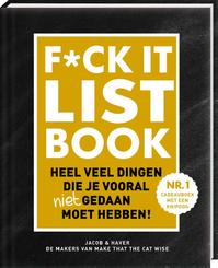F*CK-it list - Jacob & Haver (ISBN 9789463332019)