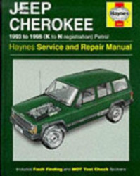 Jeep Cherokee Service & Repair Manual - Bob Henderson, A. K. Legg (ISBN 9781850109433)