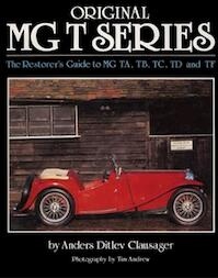 Original MG T Series - Anders Clausager (ISBN 9781906133344)