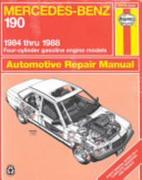 Mercedes-Benz 190, 1984-1988 - John Haynes (ISBN 9781850106432)