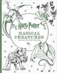 Harry Potter Magical Creatures Colouring Book - (ISBN 9781783705825)