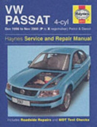 VW Passat (96-00) Service and Repair Manual - Martynn Randall (ISBN 9781859609170)
