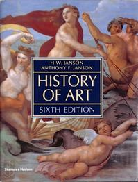 History of art - Horst Woldemar Janson, Anthony F. Janson (ISBN 9780500237816)