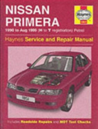 Nissan Primera 1990 TO Aug 1999 - Mark Coombs, Steve Rendle (ISBN 9781859607008)