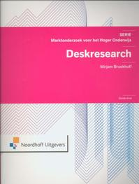 Deskresearch - Mirjam Broekhoff (ISBN 9789001809362)