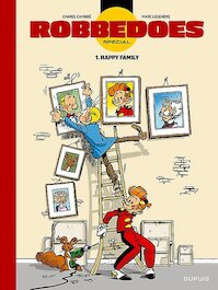 Robbedoes Special 1. Happy family (luxe editie) - Charel Cambré, Marc Legendre (ISBN 9789031435319)