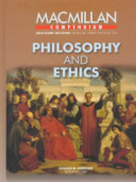 Philosophy and Ethics - Donald M. Borchert (ISBN 9780028653662)