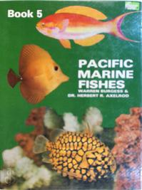 Pcific Marine fishes book 5.Fishes of Taiwan and adjacent waters - Warren Burgess, Herbert R. Axelrod (ISBN 9780876661277)