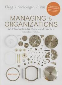 Managing and Organizations - Stewart R. Clegg (ISBN 9781473938441)