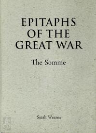 Epitaphs of the Great War - Sarah Wearne (ISBN 9781910500521)