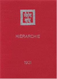 Hierarchie - Agni Yoga Society (ISBN 9789062716906)