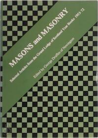Masons and Masonry - George Draffen (ISBN 0853181314)