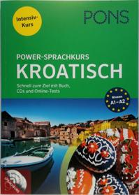 PONS Power-Sprachkurs Kroatisch - Intensiv-Kurs - (ISBN 9783125628960)