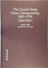 The United States Chess Championship, 1845-1996 - Andy Soltis, Gene H. McCormick (ISBN 9780786402489)