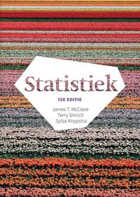 Statistiek, 12e editie met MyLab NL toegangscode - James T. McClave, Terry Sincich, Sytse Knypstra (ISBN 9789043033466)