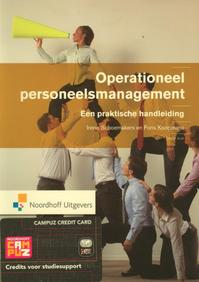 Operationeel personeelsmanagement - Irene A.M. Schoemakers, Fons A.J. Koopmans (ISBN 9789001810122)