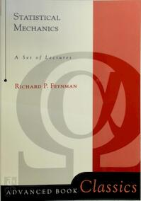 Statistical Mechanics - Richard Phillips Feynman (ISBN 9780201360769)