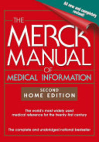 The Merck Manual of Medical Information - Mark H. Beers (ISBN 9780743477338)