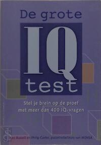 De grote I.Q. test. - K. Russell, Ph. Carter (ISBN 9789043802437)