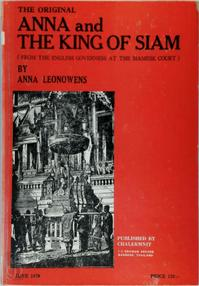 Anna and The King of Siam - Anna Leonowens