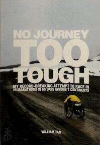 No journey too tough - William Tan (ISBN 9810549822)