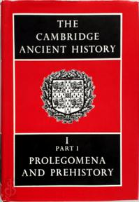The Cambridge Ancient History - (ISBN 9780521070515)