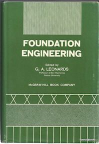 Foundation engineering - G. A. Leonards