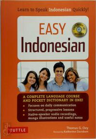 Easy Indonesian - Thomas G. Oey (ISBN 9780804843133)
