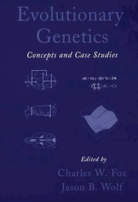 Evolutionary Genetics - Concepts and case studies - Fox (ISBN 9780195168181)