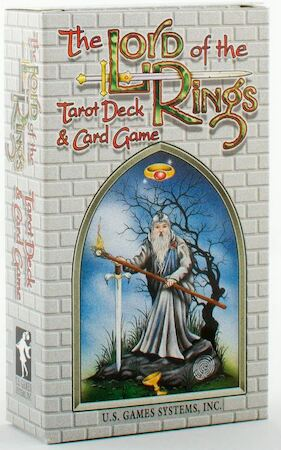 The Lord of the Rings Tarot Deck & Card Game - Terry Donaldson, Peter Pracownik, Mike Fitzgerald
