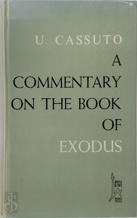 A commentary on the book of Exodus - Umberto Cassuto