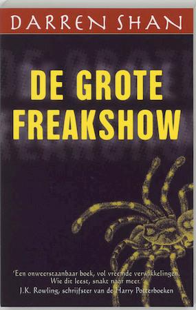 Onwijs De Grote Freakshow - D. Shan - (ISBN: 9789026131073)   De Slegte WS-79
