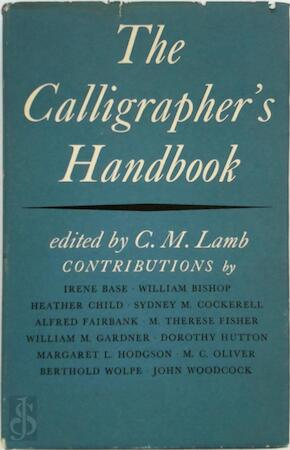 The Calligrapher's Handbook - C.M. Lamb
