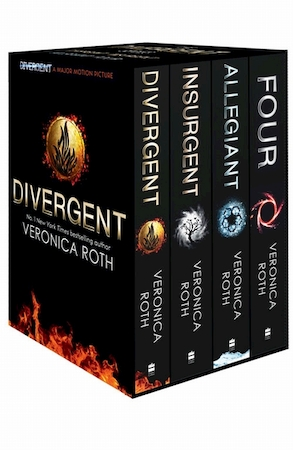 Divergent series box set - veronica roth