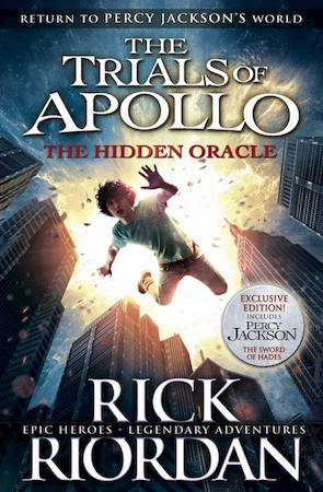 Trials of apollo (01): hidden oracle - Rick Riordan