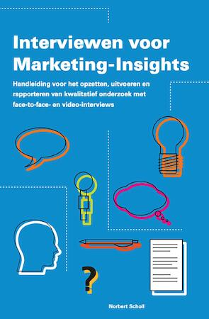 Interviewen voor Marketing-Insights - Norbert B. Scholl
